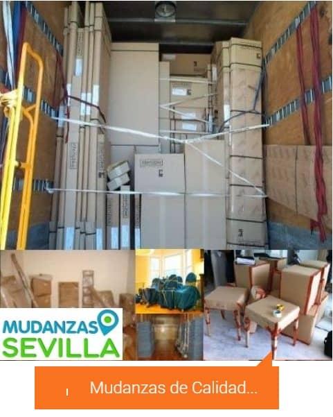 Empresa mudanza mudanzas Sevilla